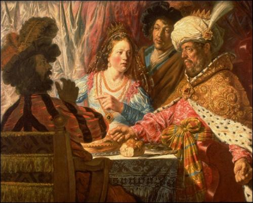 Königin Esther Gemälde von 1625